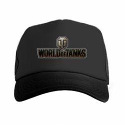 Кепка-тракер World Of Tanks Logo - FatLine