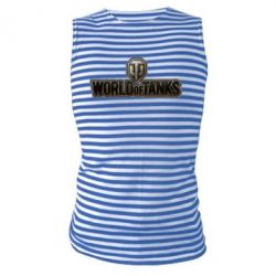 Майка-тельняшка World Of Tanks Logo - FatLine