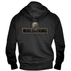 Мужская толстовка на молнии World Of Tanks Logo - FatLine