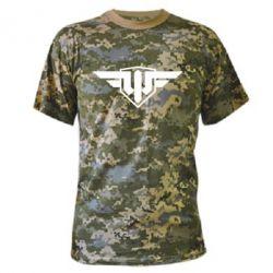 Камуфляжная футболка World of Warplanes Logo