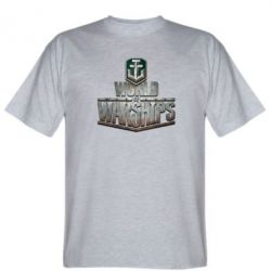 Мужская футболка World of Warships - FatLine