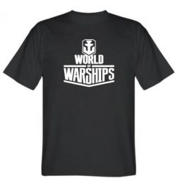 Футболка World of Waships Logo
