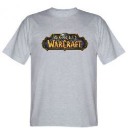 Мужская футболка Wow Logo - FatLine