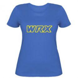 Женская WRX logo - FatLine