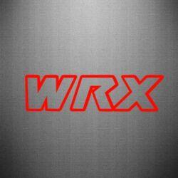 Наклейка WRX logo - FatLine