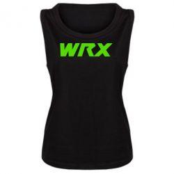 Женская майка WRX - FatLine