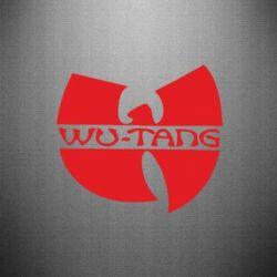 Наклейка WU-TANG - FatLine