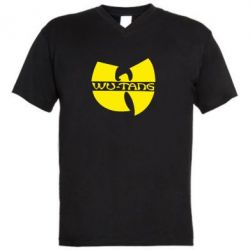 Мужская футболка  с V-образным вырезом WU-TANG - FatLine