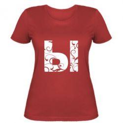 Женская футболка Ы - FatLine