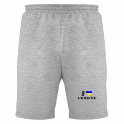 Мужские шорты Я люблю Украину - FatLine