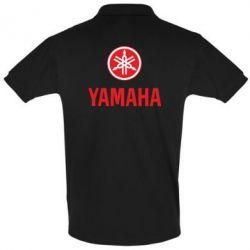 Футболка Поло Yamaha Logo(R+W) - FatLine