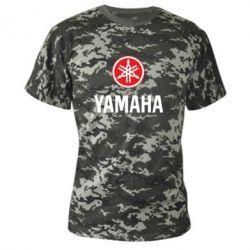 Камуфляжная футболка Yamaha Logo(R+W) - FatLine