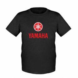 Детская футболка Yamaha Logo(R+W) - FatLine