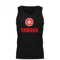 Мужская майка Yamaha Logo(R+W) - FatLine