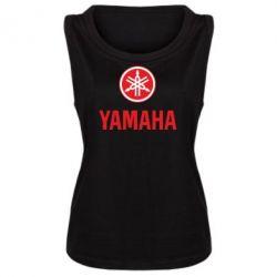 Женская майка Yamaha Logo(R+W) - FatLine