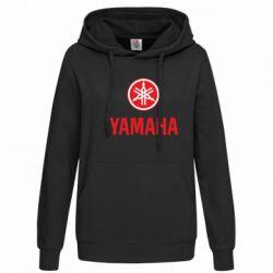 Женская толстовка Yamaha Logo(R+W) - FatLine