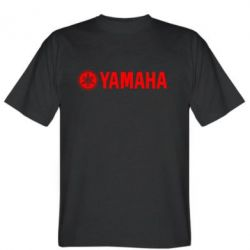 Мужская футболка Yamaha Logo - FatLine