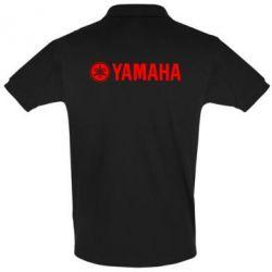 Футболка Поло Yamaha Logo - FatLine