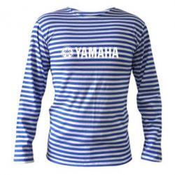 Тельняшка с длинным рукавом Yamaha Logo - FatLine