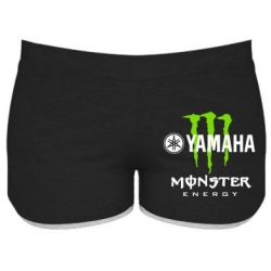 Женские шорты Yamaha Monster Energy - FatLine