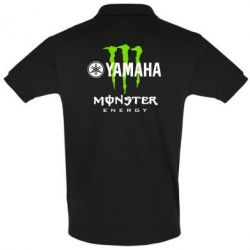 Футболка Поло Yamaha Monster Energy - FatLine