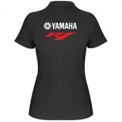 Женская футболка поло Yamaha R1 - FatLine