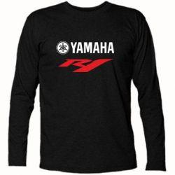 Футболка с длинным рукавом Yamaha R1 - FatLine