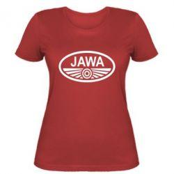 Женская футболка Ява