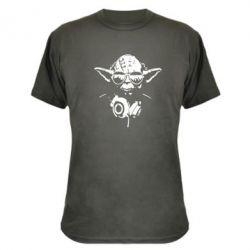 Камуфляжная футболка Yoda в наушниках - FatLine