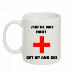 ������ You're not hurt.Get up and ski