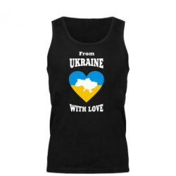 Мужская майка З України з любовью - FatLine