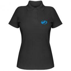 Женская футболка поло ZAZ - FatLine