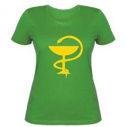 Женская футболка Здравоохранение - FatLine