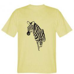 Мужская футболка Зебра - FatLine