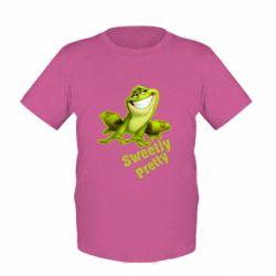 Детская футболка Жабка