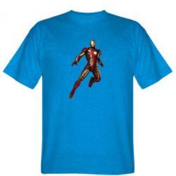 Мужская футболка Железный Человек в воздухе - FatLine