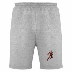 Мужские шорты Железный Человек в воздухе - FatLine