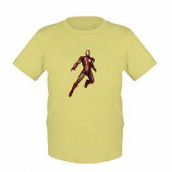 Детская футболка Железный Человек в воздухе - FatLine