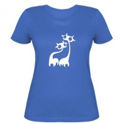 Жіноча футболка Жирафи - FatLine