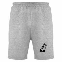 Мужские шорты Жирафы - FatLine