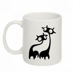 Кружка 320ml Жирафы - FatLine
