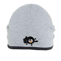 Шапка Жирный кот - FatLine