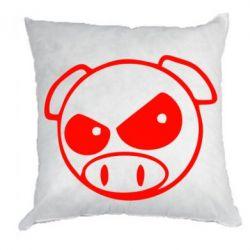 Подушка Злая свинка - FatLine