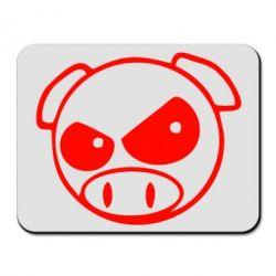 Коврик для мыши Злая свинка - FatLine