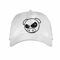 Детская кепка Злая свинка - FatLine