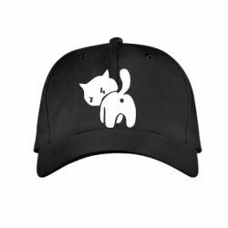 Дитяча кепка злий коте - FatLine