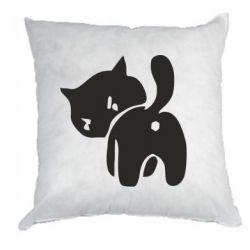 Подушка злий коте - FatLine