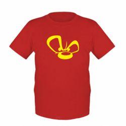 Детская футболка Злой мишка