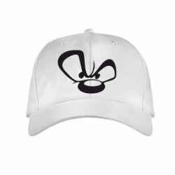 Детская кепка Злой мишка