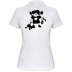 Женская футболка поло Злюка - FatLine
